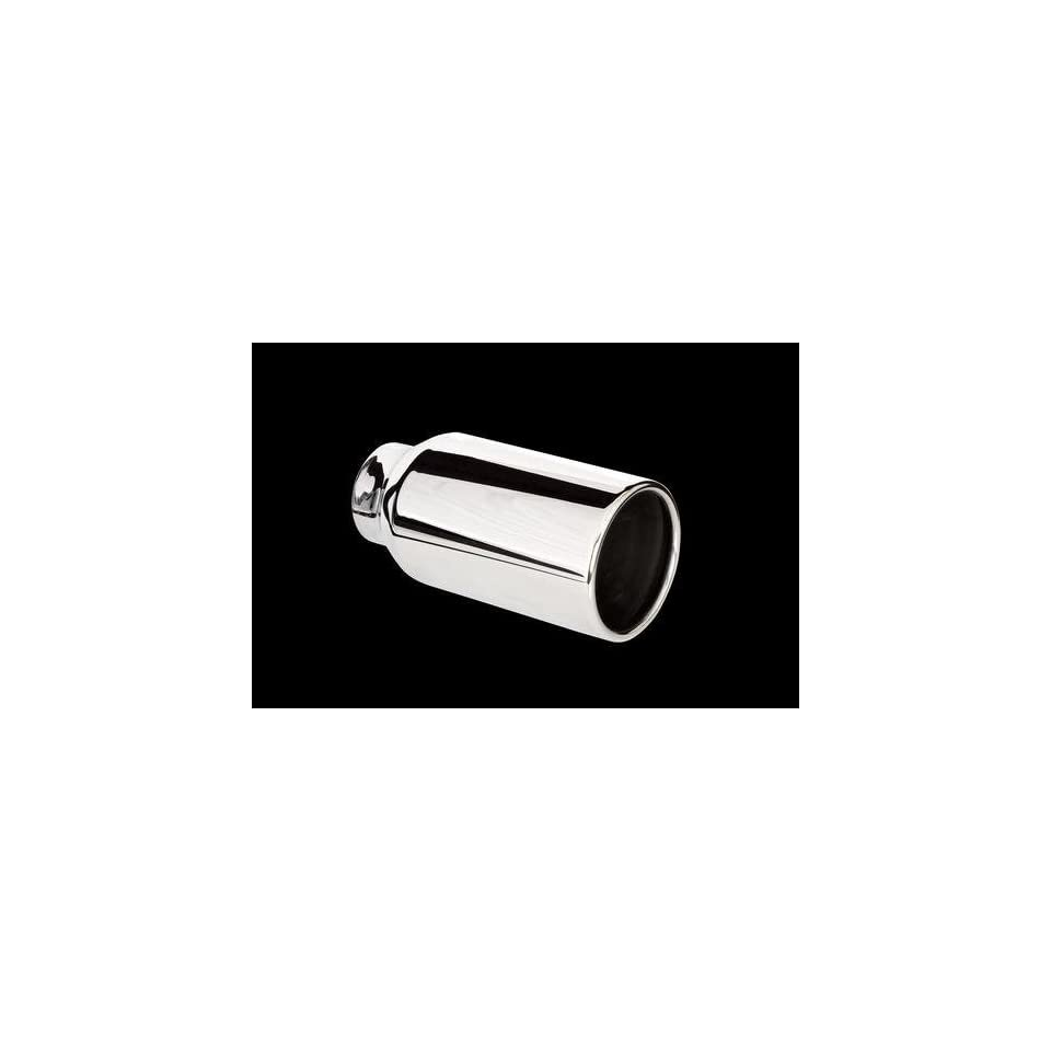 Carriage Works 5028 Polished 304 Stainless Steel Exhaust Tip