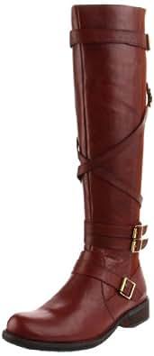 Miz Mooz Women's Kira Riding Boot,Brown,5.5 M US
