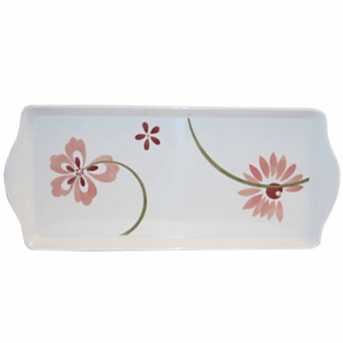 Corelle Coordinates Melamine Tidbit Tray, Pretty Pink (Corelle Small compare prices)