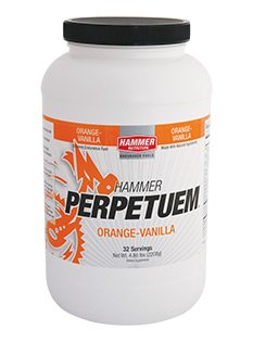 Hammer Nutrition Perpetuem Container For 16-Serving, Orange/Vanilla