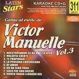 echange, troc Karaoke - Latin Stars Karaoke: Victor Manuelle, Vol. 3