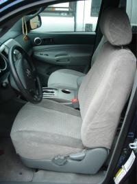 Durafit Seat Covers, T914-C8- Toyota Tacoma SR5 Front Bucket Seat Covers in Gray Endura Without Airbags in Seats (Tacoma Seat Covers Trd compare prices)