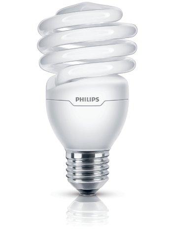 Philips -  E27 ES Ampoule Fluo-Compacte Spirale - Culot E27 - 23 Watts Consommés - Équivalence Incandescence : 110W