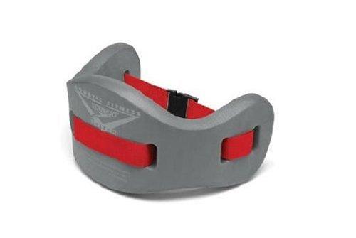 Speedo Aqua Jog Water Aerobic Swim Training Blet, Charcoal/Red, Small/Medium