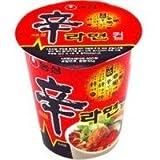 Korea NO1!辛ラーメンカップ麺 辛ラーメンカップ(小)