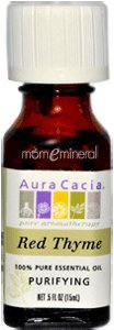 Aura Cacia Pure Essential Oil Red Thyme - 0.5 Fl Oz