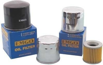 Emgo 10-82222 Chrome Finish Spin-On Microglass Oil Filter (Boss Hydraulic Oil compare prices)