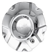 Mr. Lugnut C10333 Chrome Plastic Center Cap for Star Wheels (Mr. Lugnut)