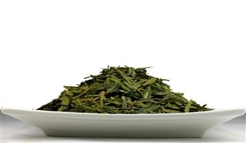 Organic Dragon Well (Premium), Organic Dragon Well Is A Green Tea That Has Been Pan Fried. - 1 Lb Tea Bag. front-548649