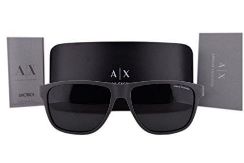 Armani-Exchange-AX4052S-Sunglasses-Matte-Gray-wGray-Lens-818087-AX-4052S-For-Men