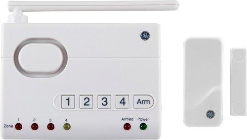 GE 45142 Choice-Alert Wireless Control Center with Door or Window Sensor Kit