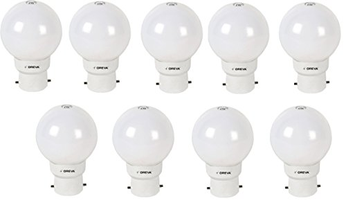 1W LED Bulb (Cool Day Light , pack of 9)