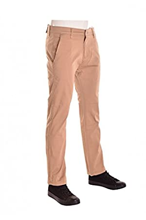 HWBY Mens Slim-Fit Casual Chino Pants