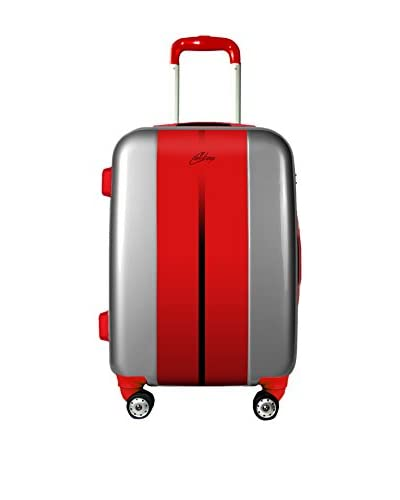 Calibag Trolley rígido Original Road 55cm Rojo / Gris