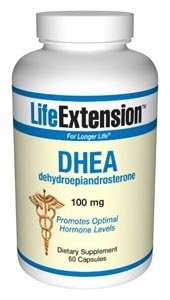 Life Extension, DHEA 100 Mg Capsules, 60-Count