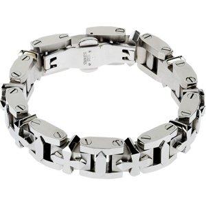 Stainless Steel Cross Bracelet, 9