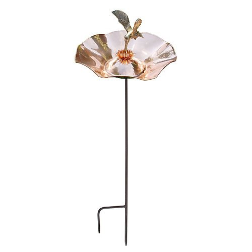 Achla Designs Hummingbird Birdbath with Stand