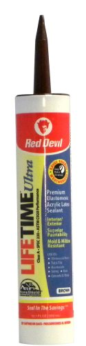 red-devil-077040-lifetime-ultra-premium-elastomeric-acrylic-latex-sealant-101-ounce-brown