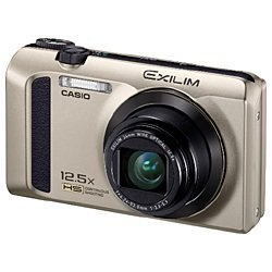 CASIO カシオ デジタルカメラのEXILIM EX-ZR300GDの写真