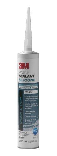 3M Marine Grade Silicone Sealant White 08027 110 gal