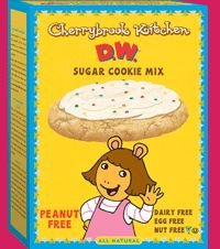 Cherrybrook Kitchen Sugar Cookie Mix Peanut Free 135-ounce Boxes Pack Of 6 by Cherrybrook Kitchen