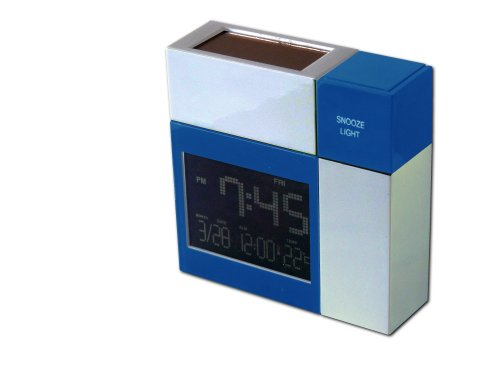 POWERplus Racoon Solar Powered Alarm Clock