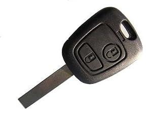 Coque clé clef boitier télécommande plip pour voiture Peugeot 107 207 307