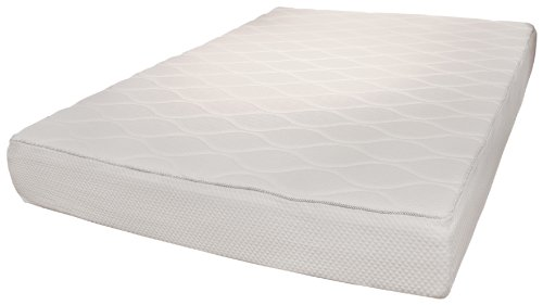 Rio Home Fashions 10-Inch Top Quilted Memory Foam Mattress, Twin front-1027070