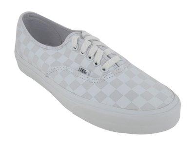 Vans Men s VANS AUTHENTIC SKATE SHOES 10 ((CHECKERBOARD) TRUE WHITE  T)  Reviews 795e28725f