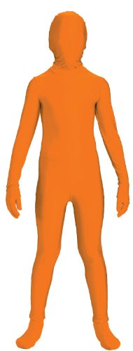 Invisible Man Child Costume Orange Skin Suit