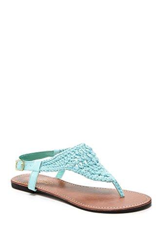 Charles Albert Women's Bali Crochet Flat Sandal