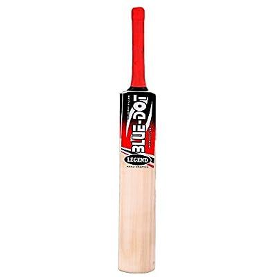 Blue Dot Legend Tennis Kashmir Willow Cricket Bat (Size-SH)