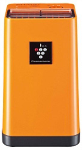 Image of SHARP Plasmacluster Air Ionizer IG-C20 D Orange | Ideal for desktop, walk-in closet, kitchen (Japan Import) (IG-C20-D)