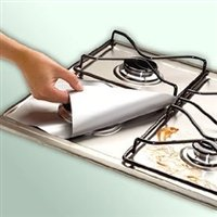 IMCG Silver Gas Range Protectors Set of 4