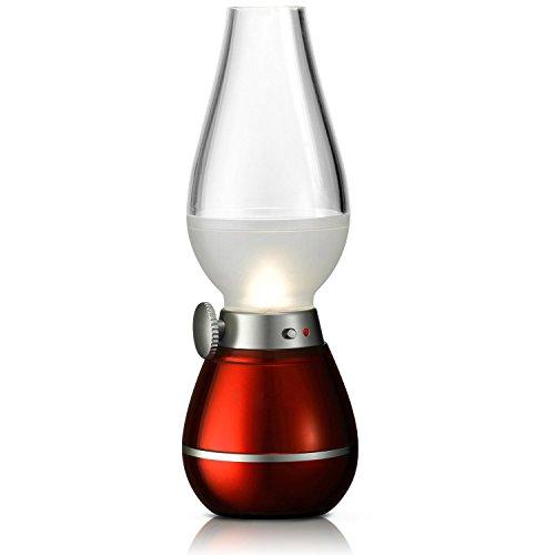 Gearmax-Klassische-Lampe-LED-Tischlampe-Retro-Vintage-Laterne-Blow-LED-mit-Lithium-Akku-USB-Kabel-Nostalgie-Licht-Romantische-Atmosphre-Nachttischlampe-Stimmungslicht-Innovative-kreative-Kerosin-l-Lam