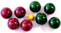EPCO Tournament Bocce Set - Several Sizes to Choose From