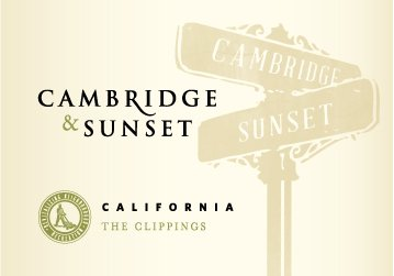 2013 Cambridge & Sunset The Clippings White California 750 Ml