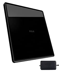 RCA ANT1750R Amplified Digital Flat Indoor TV Antenna