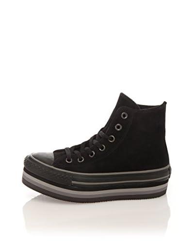 Converse Sneaker A/S Hi Platform Eva Suede Terr [Nero]
