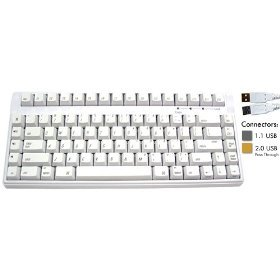 DSI Compact Cherry Mechanical Switch Mac Keyboard SMK-88 USB
