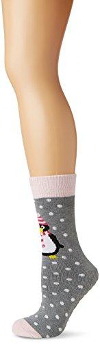 Totes Women's Single Pack Original Slipper Socks,