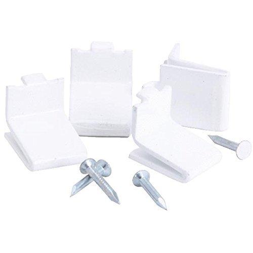KV Shelf Support Clip (Bag of 20) White (Kv Shelf Support Clip compare prices)