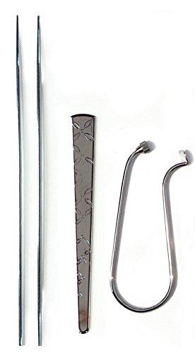 Conjunto de tres utensilios para ceremonia Koh Do