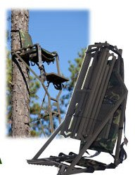 15 Foot Folding Backpack Tree Stand - ONLY 32 Pounds! Five Minute One Man Setup