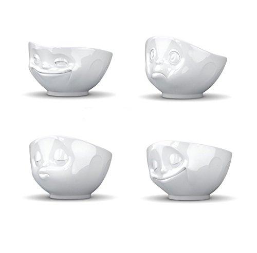 Divertimento fiftyeight cereali ciotole set 4 tazza schiuma latte caffettiera