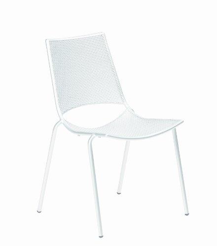 Emu Group Spa Ala 150 301500100 Stacking Chair Powder-Coated Steel White