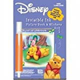Disney Winnie To Pooh Invisible Ink Pen Book 1