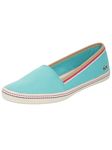 Lacoste Women's Orane 3 Ap Flats in Light Blue 7 W US