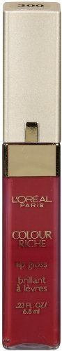 LOreal Paris Colour Riche Lip Gloss Rich Red 0.23-Fluid Ounce (Pack of 2)