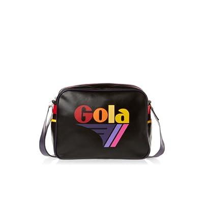 Gola Redford Messenger Bag - Black/Rainbow